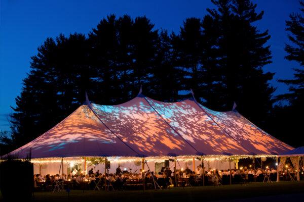 sailcloth tent voor feest of evenement